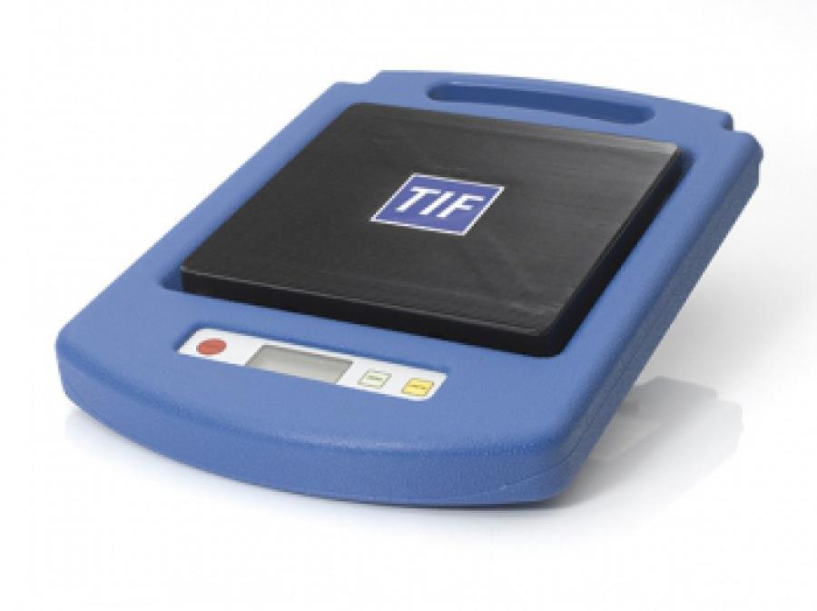 TIF refrigerant weighing platform